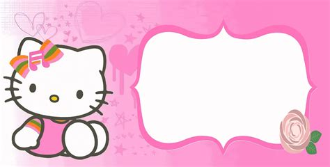 birthday party invitation hello kitty invitations online