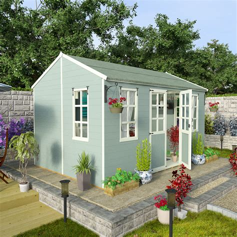 Garden Shed 12x8 by Billyoh 12 X 8 Summerhouse Summer Houses Uk 5000