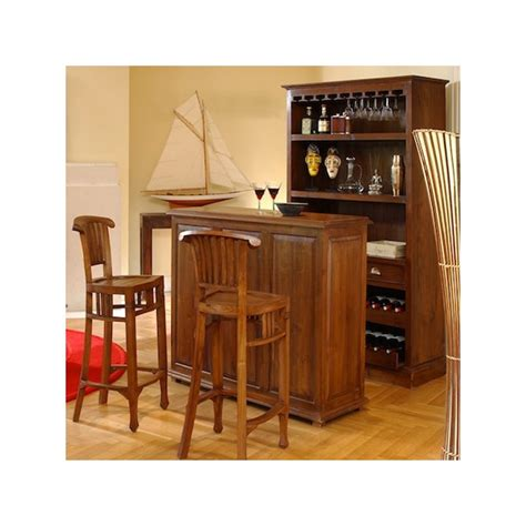 comptoir bar pas cher comptoir bar en teck pas cher origin s meubles