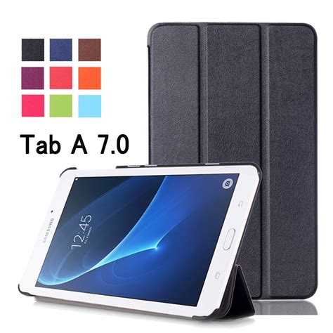 Flip Cover Samsung Tab 2 A7 30 for samsung galaxy tab a 7 0 sm t280 sm t285 business painted print pu leather flip