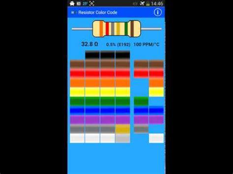 4 band resistor color code calculator apk mwave resistor color code apk for android aptoide