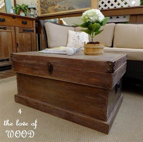 4 the of wood pottery barn trunk look a like