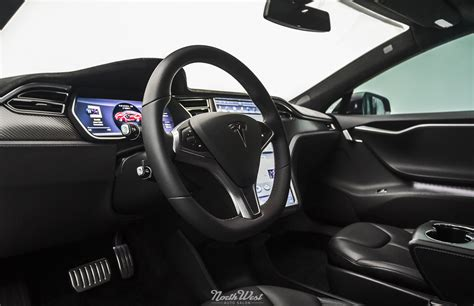 Tesla Model S Black Interior Look Xpel Ultimate Paint Protection On A Tesla P85d