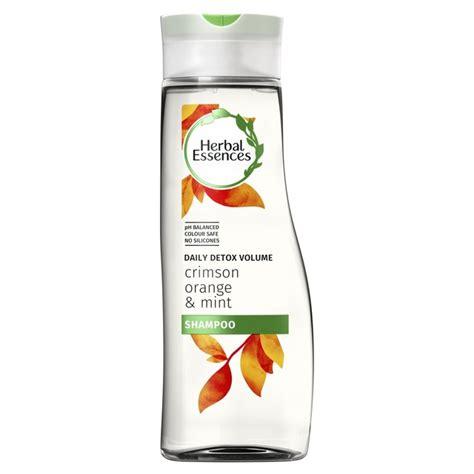 Detox Herbs Review by Herbal Essences Detox Crimson Orange Mint Shoo 400ml