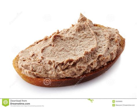 bread with liver pate stock image image of meal gourmet 35939993