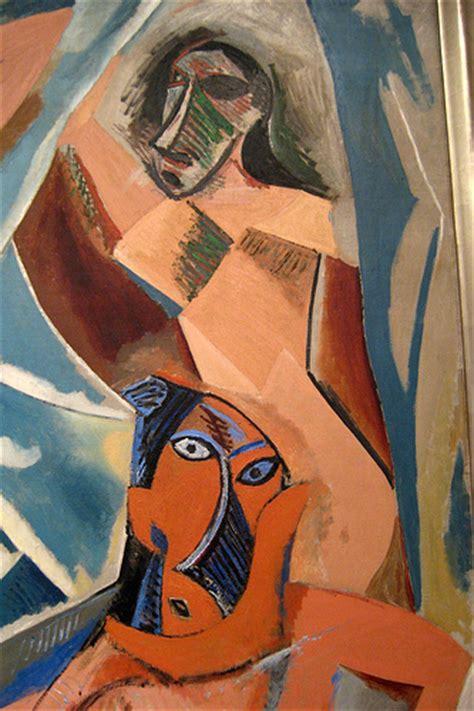 picasso paintings les demoiselles d avignon nyc moma pablo picasso s les demoiseels d avignon