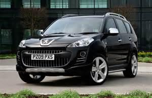 Peugeot 4x4 Peugeot 4007 Sport Xs Launched