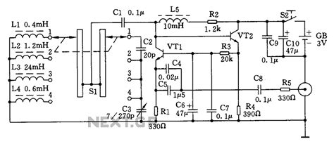 signal generator circuit diagram gt oscillators gt simple high frequency signal generator