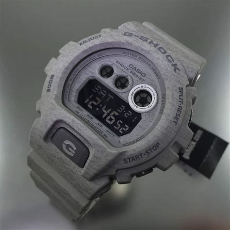 Casio G Shock Grey grey casio g shock heathered series gdx6900ht 8