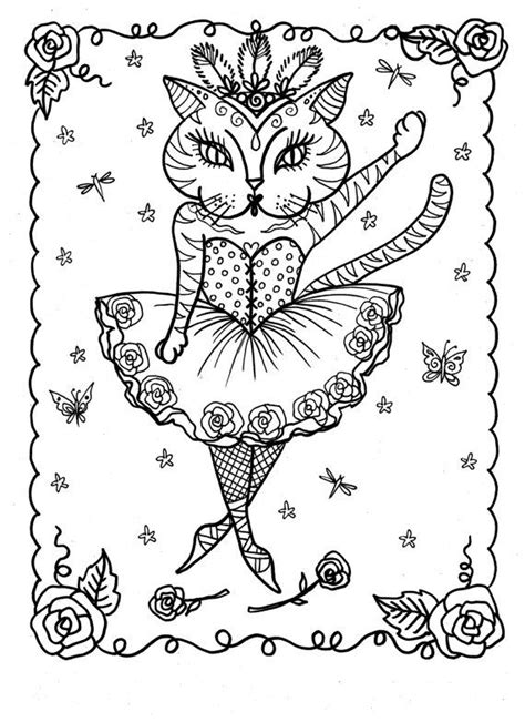 advanced cat coloring pages 591 best images about color pages cats on pinterest