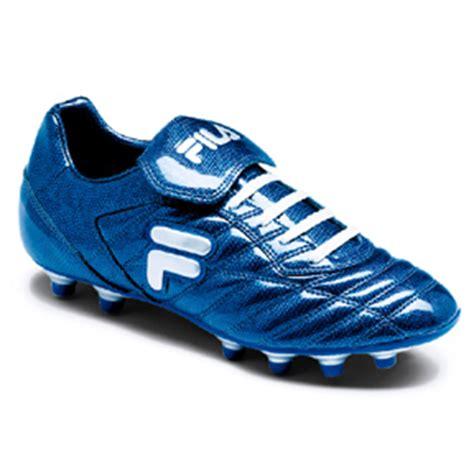 fila football shoes fila serpente blue soccer shoes reptile blue white