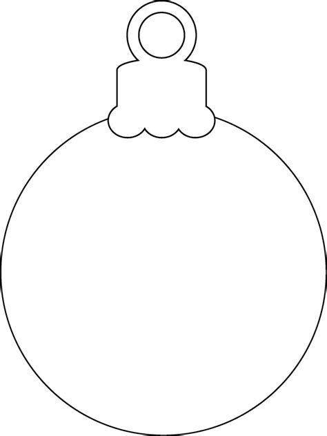Christmas Ornament Print Out Printable 360 Degree Templates For Ornaments
