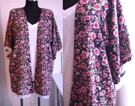 tuto couture kimono d 233 t 233 avec franges patron gratuit