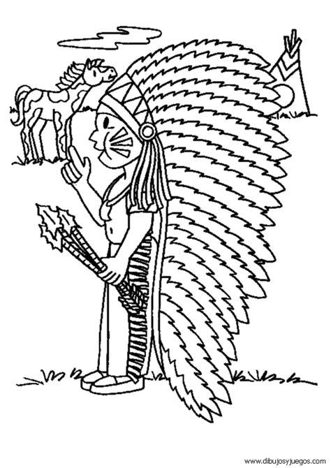 Free Indios Tainos Coloring Pages Indios Para Colorear