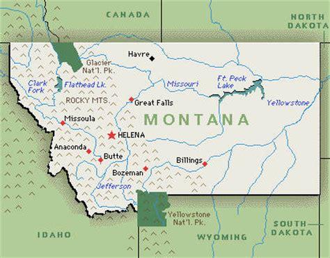 Montana Us Map by Montana Hotels And Resorts Hotel Fun 4 Kids