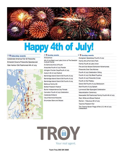 Seattle Events Calendar Seattle S 4th Of July 2012 Event Calendar City Of