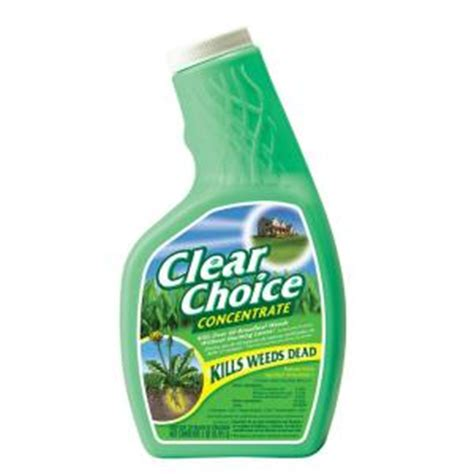 clear choice  oz concentrate weed killer