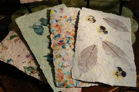 Handmade Paper Ideas - cathie filian make it handmade paper