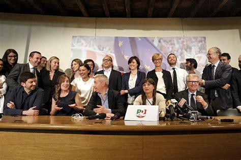 gruppo pd elezioni europee la conferenza pd nella sede