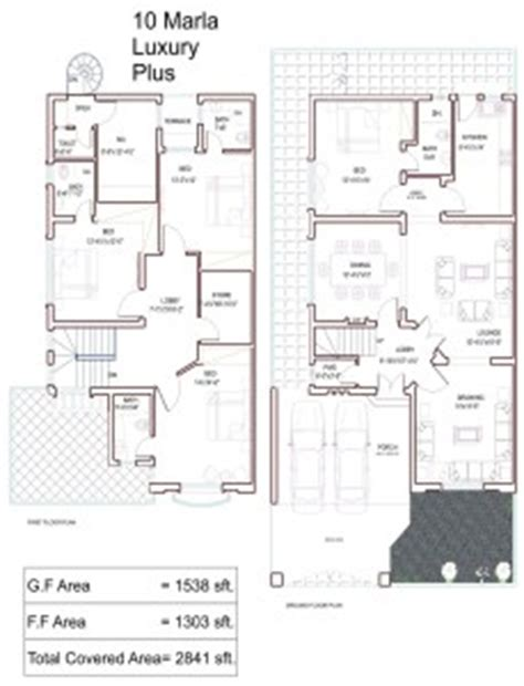 House Plan For 15 Feet By 60 Feet 10 marla house plans civil engineers pk