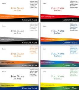 business cards templates word how to print business cards in microsoft word chron