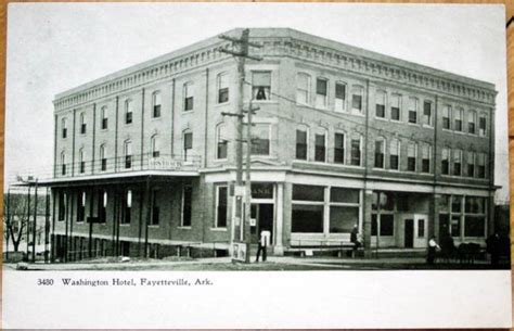 Us Post Office Fayetteville Ar by Details About 1905 Postcard Washington Hotel