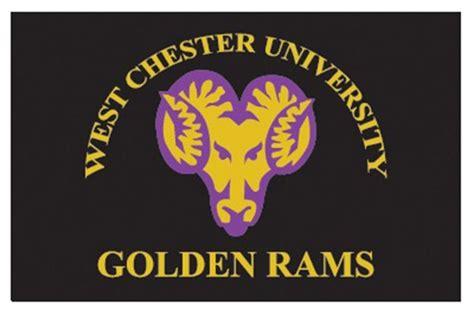fanmats  west chester university golden rams logo  starter rug