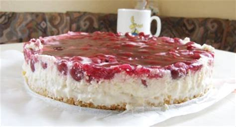 philadelphia kuchen ohne backen philadelphia kuchen mit kirschen ohne backen rezepte suchen