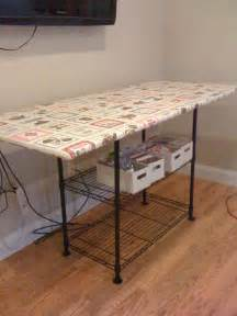 s sewing room ironing station