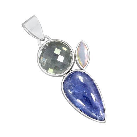 december birthstone tanzanite gemstone december birthstone pendant