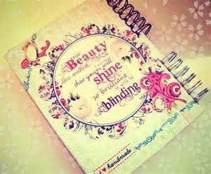 imagen de decoracion de caratula cuadernos para grandes proyectos diarios personalizados