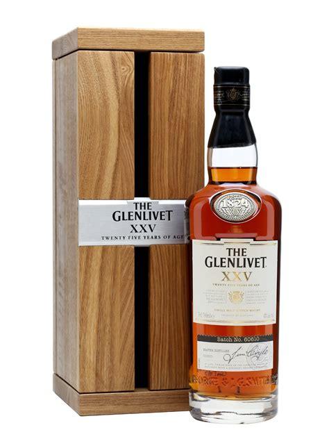 The 25 Years glenlivet 25 year xxv scotch whisky the whisky