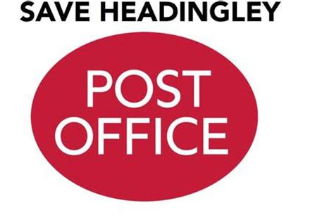 Pryor Post Office by Petition Save Headingley Post Office