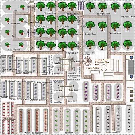 Fruit Garden Layout Garden Plan 2013 Community Fruit Garden