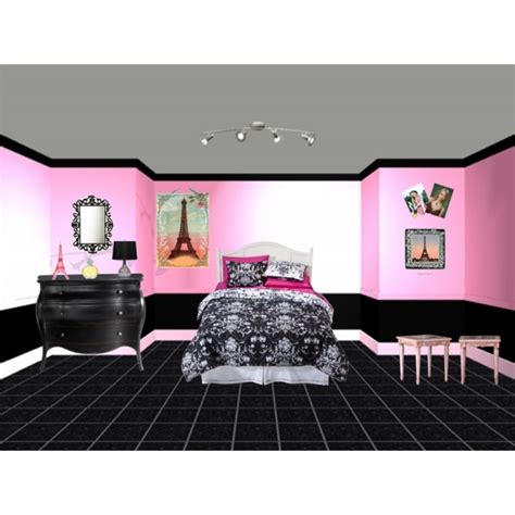 paris room theme polyvore