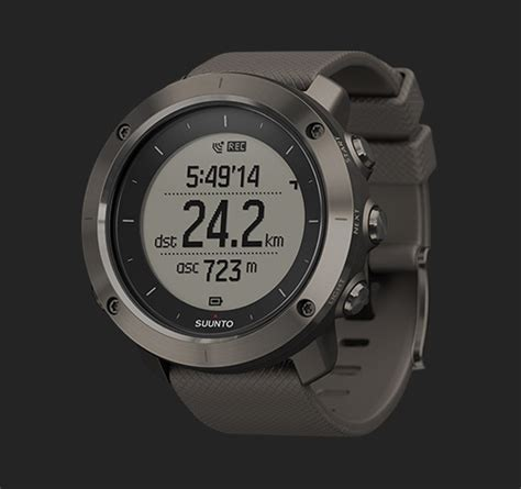 Suunto Traverse Black Original suunto traverse collection outdoor watches with gps glonass