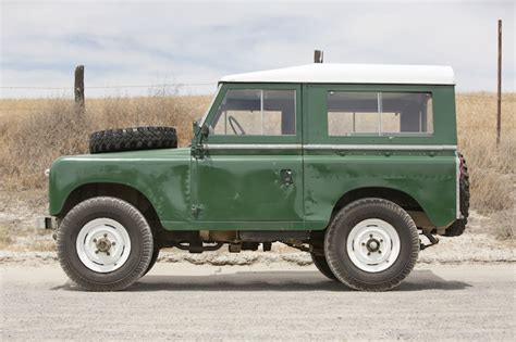 1969 Land Rover Iia Hardtop 2 25 1 Silodrome