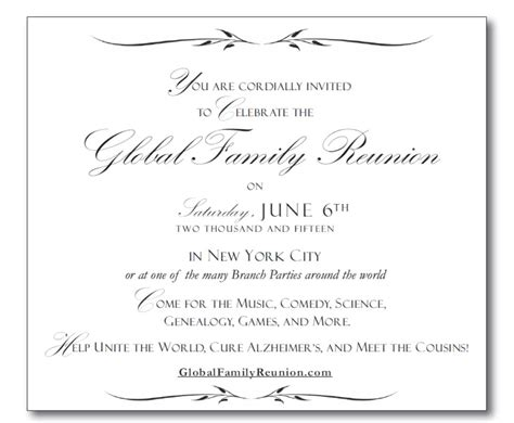 you are cordially invited template graphics global family reunion