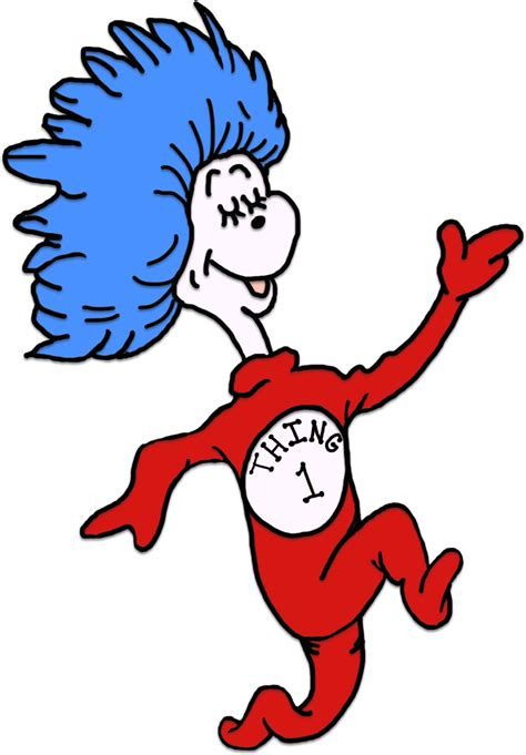 diy thing 1 thing 2 printables clipart best