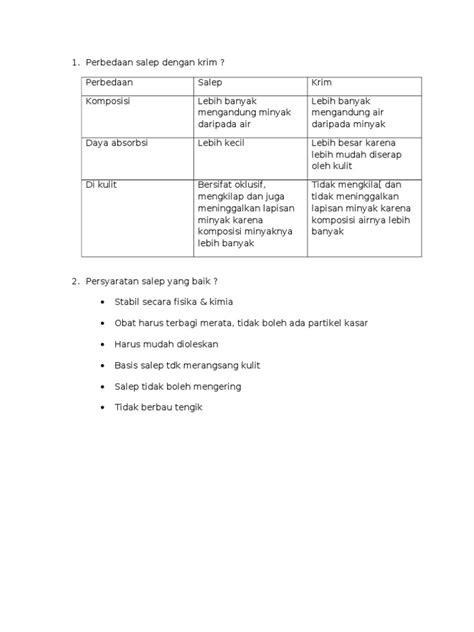 Salep Dermatix Yang Kecil perbedaan salep dengan krim doc
