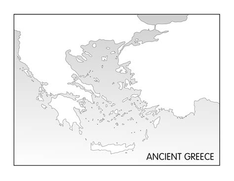 Historical Outline Map 7 Ancient Greece Answers by Outline Maps Ancient And Greece Five J S Homeschool