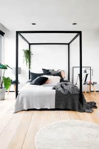 Black Canopy Bed Frame 17 Best Ideas About Modern On Shelves