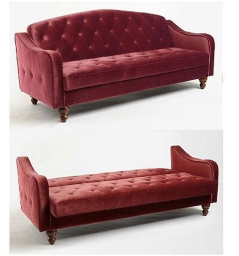 red velvet tufted sofa red velvet sofa bed burgundy tufted futon couch merlot