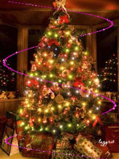 christmas tree lights animated pictures   images  facebook tumblr pinterest
