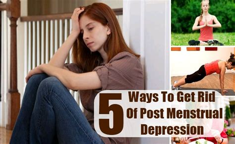 period mood swings treatment how to get rid of pms depression 5 ways to get rid of