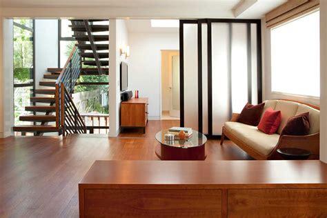 desain interior ruang tamu pintu tengah model pintu geser ruang tamu rumah minimalis ala jepang