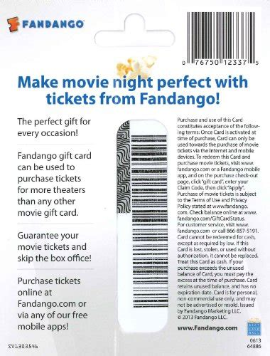 Can You Use A Fandango Gift Card At The Theater - can you use fandango gift card at amc photo 1