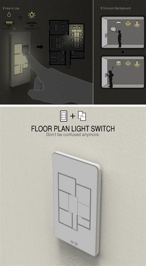 high tech light switches apague todas as luzes da casa apenas com um interruptor