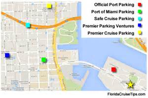 florida cruise ports map hotels with a free shuttle to the port of miami the page