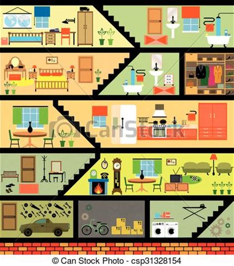 house interior cartoon cartoon family house house cartoon interior cartoon living clipart vector
